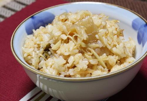 今日のキムチ料理レシピ: 梅キムチ生姜ご飯