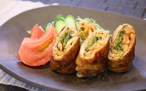 今日のキムチ料理レシピ:野菜とキムチの豚肉巻き