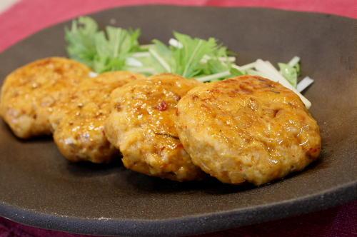 今日のキムチ料理レシピ:割干しキムチつくね