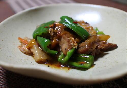 今日のキムチレシピ:焼き鳥缶とキムチの簡単炒め