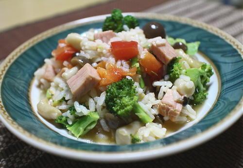 今日のキムチレシピ:野菜たっぷりハムキムチ雑炊