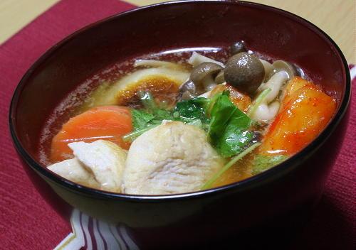 洋風キムチ雑煮レシピ