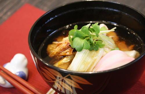 今日のキムチ料理レシピ:焼きキムチ雑煮