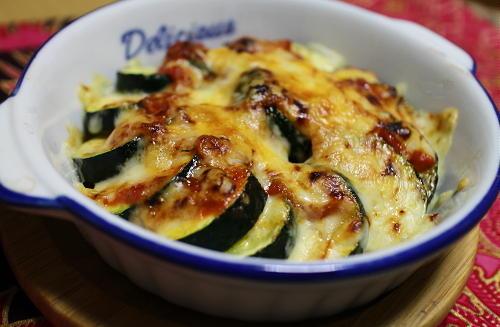 今日のキムチ料理レシピ:ズッキーニのキムチ味噌焼き